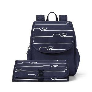 VINEYARD VINES TARGET Whale Line Diaper Baby Bag